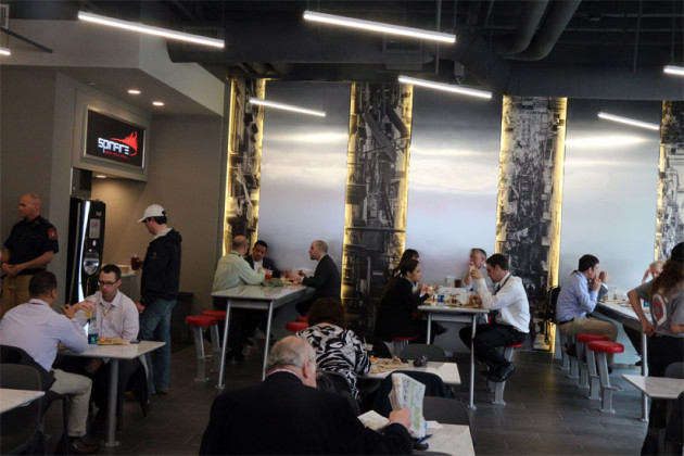 New pizza shop Spinfire Pizza opened it's doors for the first time on April 13. The shop is on 1501 Wilson Boulevard. The shop makes custom made personal pizzas that are evidently cooked in 90 seconds. The shop is owned by the owner of Paisano's and has already been a huge hit.