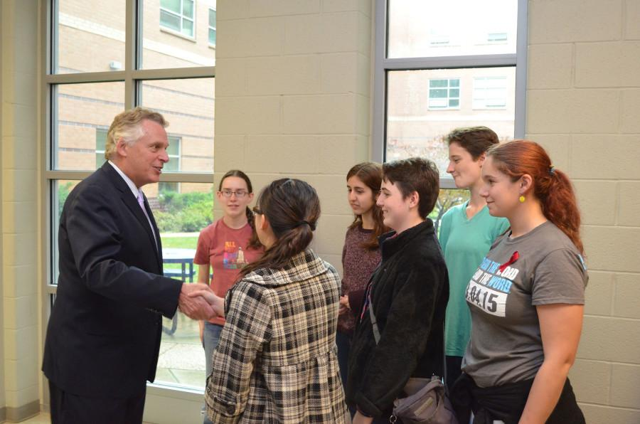 Gov. McAuliffe and panel discuss cyber security
