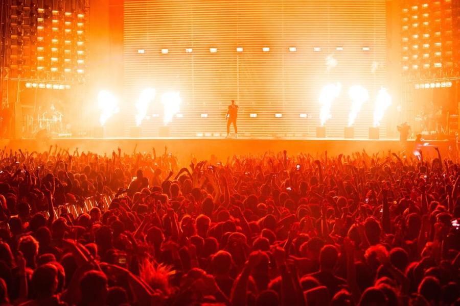 Drake performs at Landmark Music Festival at West Potomac Park on September 26.