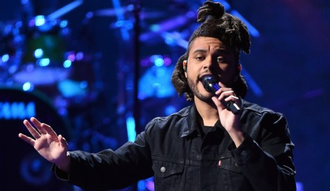 The Weeknd performs at the 2015 iHeartRadio Music Festival at MGM Grand Garden Arena on September 19, 2015 in Las Vegas.