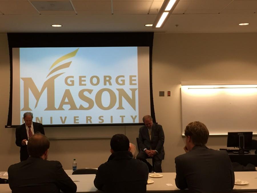 Rep.+Jim+Gilmore+speaks+at+GMU