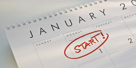 The new year is here and the resolutions are beginning!