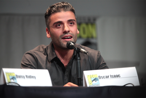 Oscar Isaac plays pilot Poe Dameron in the Star Wars franchise. He was recently discovered in a 2009 photo wearing an Atlas Shrugged t-shirt.