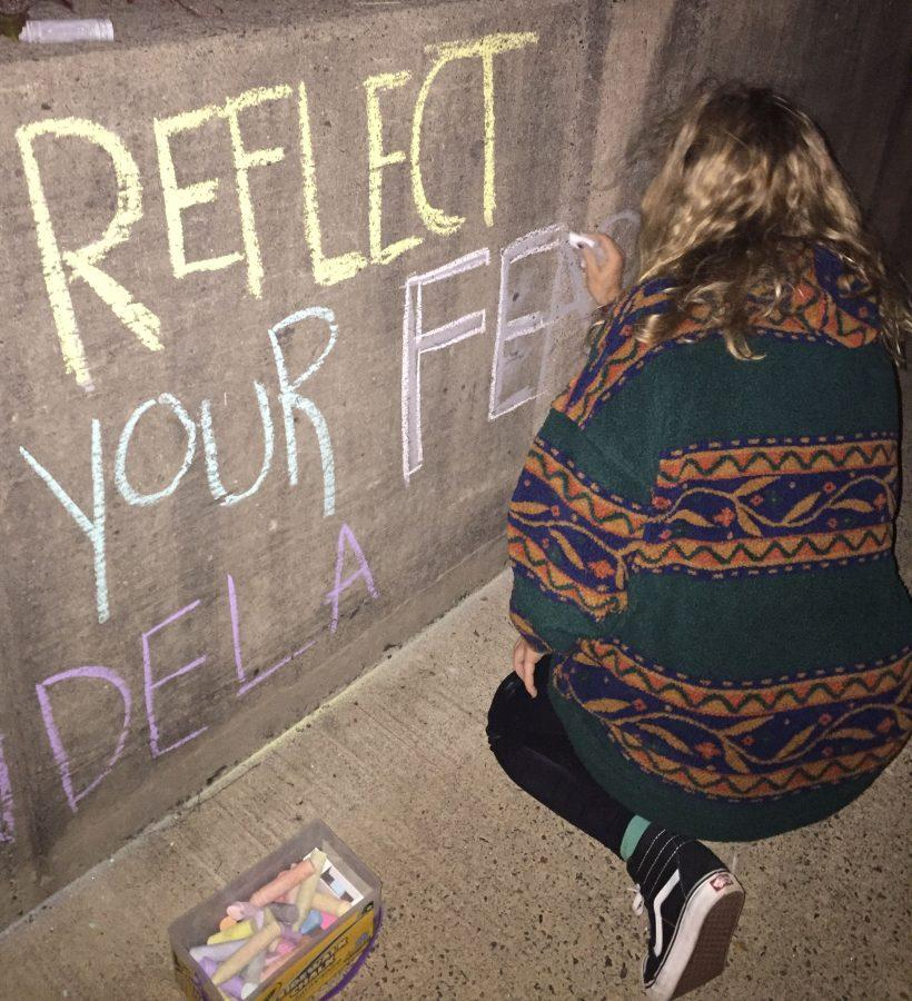 Chalking up the election