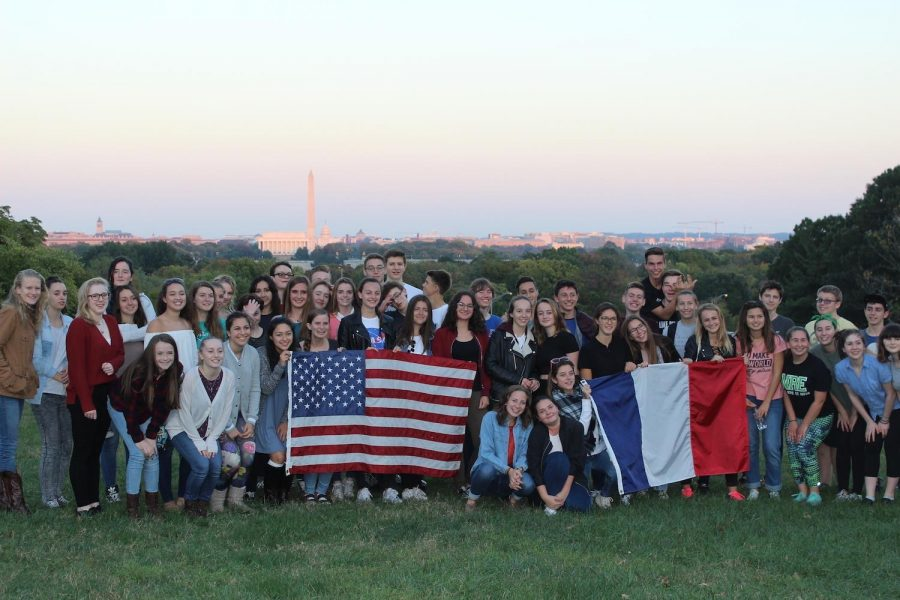 Across+borders%3A+W-L+welcomes+French+exchange+students