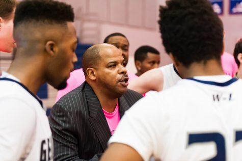 Pre-season interview with varsity basketball coach Robert Dobson