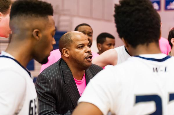 Pre-season interview with varsity basketball coach Robert Dobson