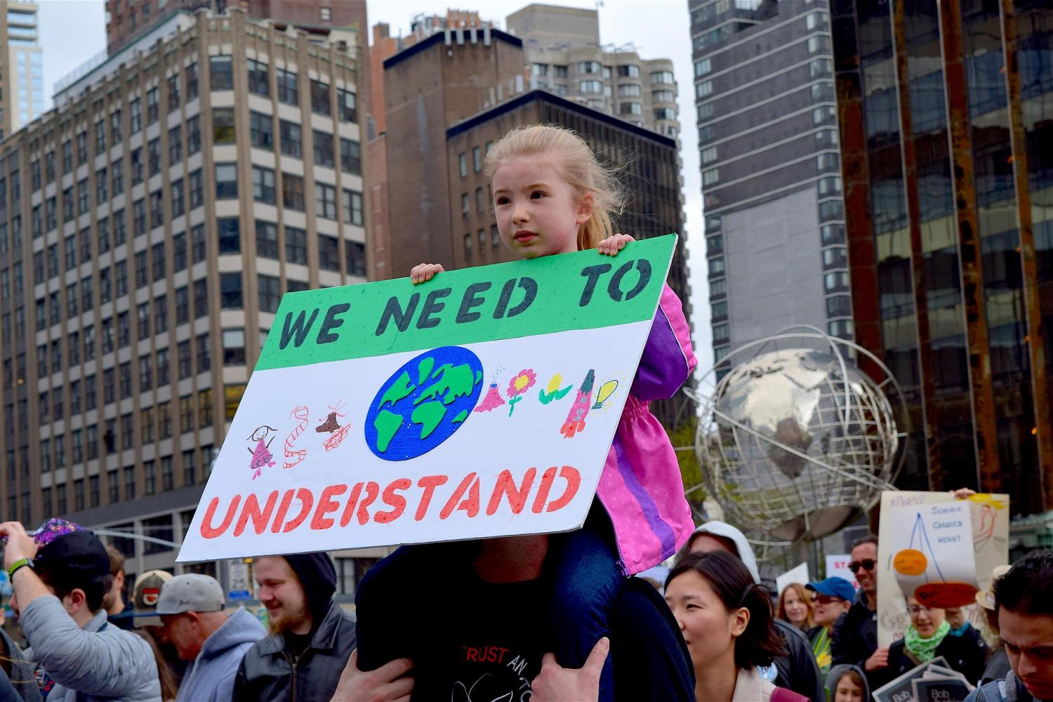 Science+March+and+Climate+March+draw+thousands+to+the+district