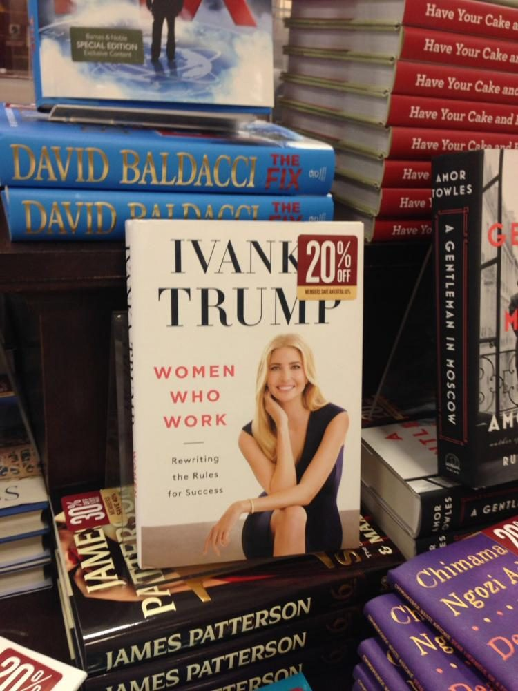 Ivanka+Trump+is+working+in+consultation+with+the+Office+of+Government+Ethics.+Her+newest+book%2C+%22Women+Who+Work%22+was+released+May+2.