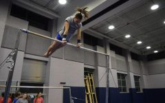 Flipping out with the gymnastics team
