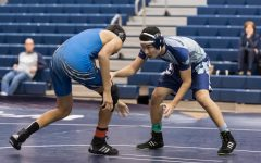 Wrestlers take it to the mat