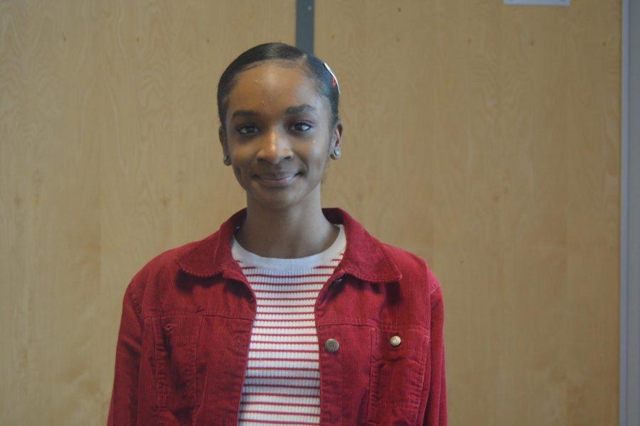 Sophomore Kristen Alleyne