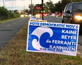 Campaign signs have cropped up across the county advertising specific candidates and/or parties in anticipation of the upcoming midterm elections in early November. For many seniors at the school, this will be their first chance to exercise their right to vote, which has encouraged many of them to become extra involved.