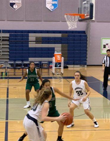 Freshman girls basketball shut down Wakefield