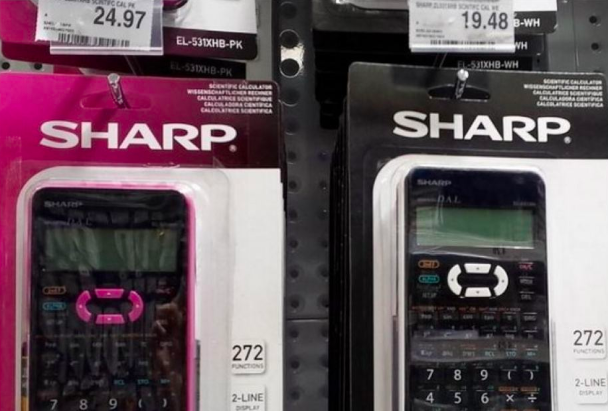 An example of the pink tax on products.