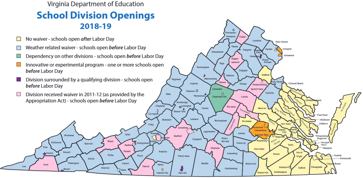 Image, created by the Virginia Department of Education (VDOE), reflects data from the 2018-2019 school year. An updated version has not yet been published.