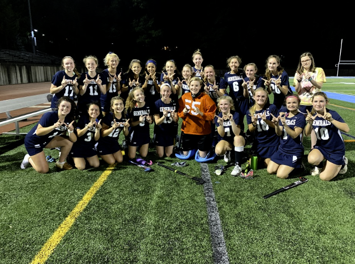 The varsity field hockey team won nine out of 16 games this season.