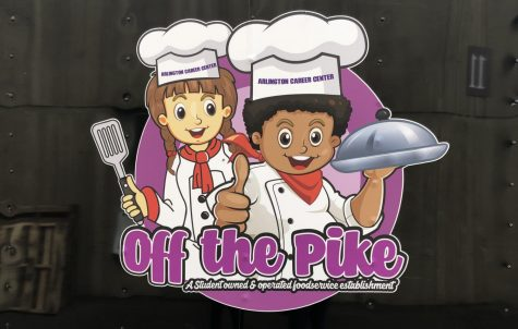 The logo on the cooking class at the Career Centers