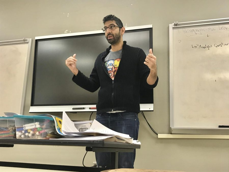 : Mr. Issa teaches sophomore grade-level and senior advanced placement (AP) English at our school. He has a distinct personal teaching style that is very skills-based.