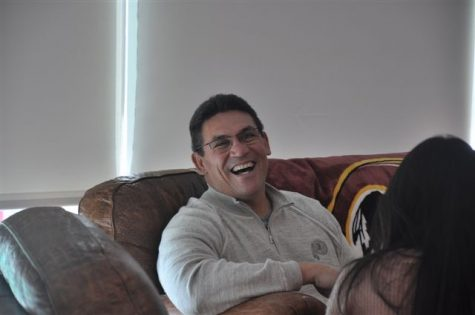 Interview with Redskins coach Ron Rivera