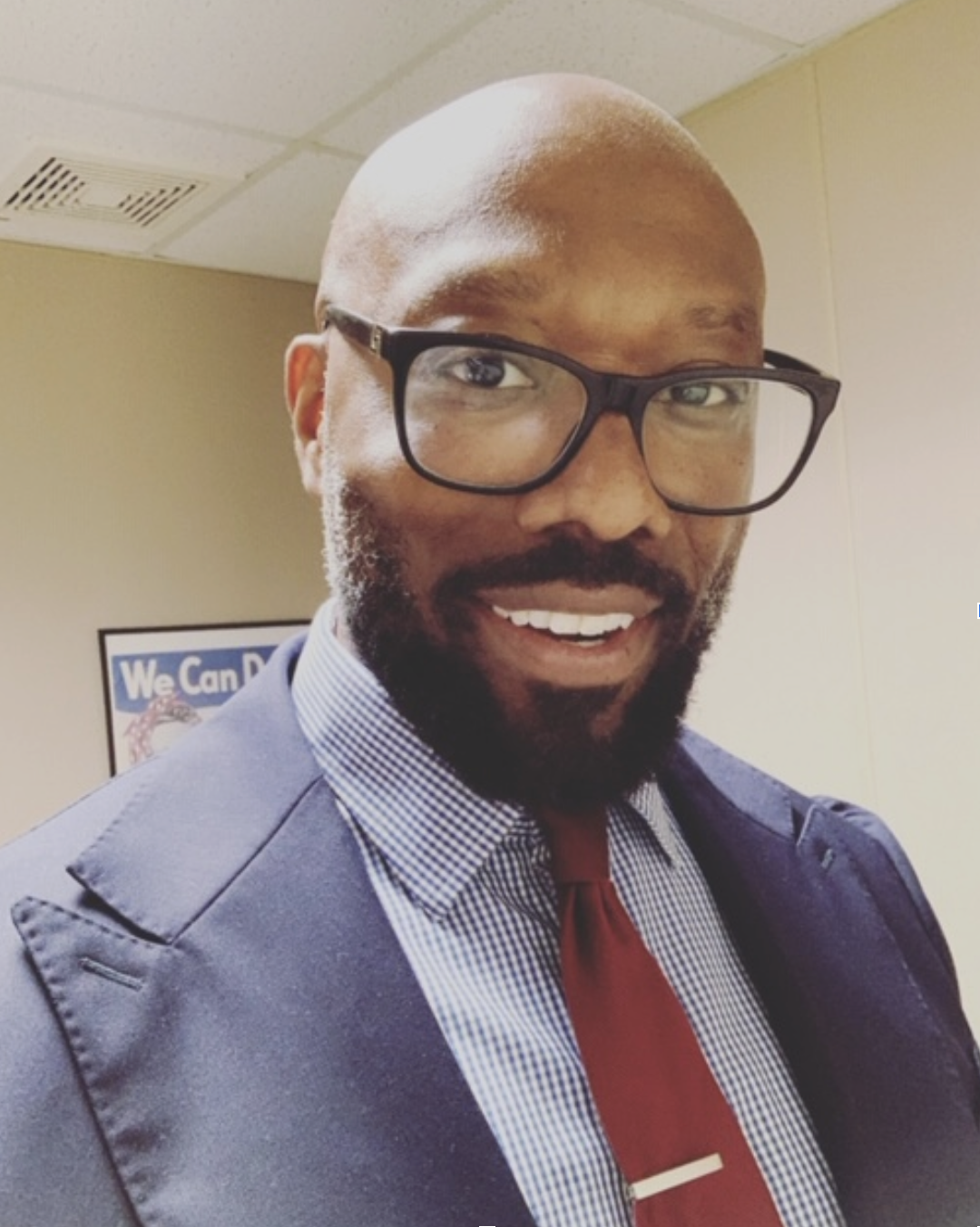Meet the new principal: Mr. Antonio Hall