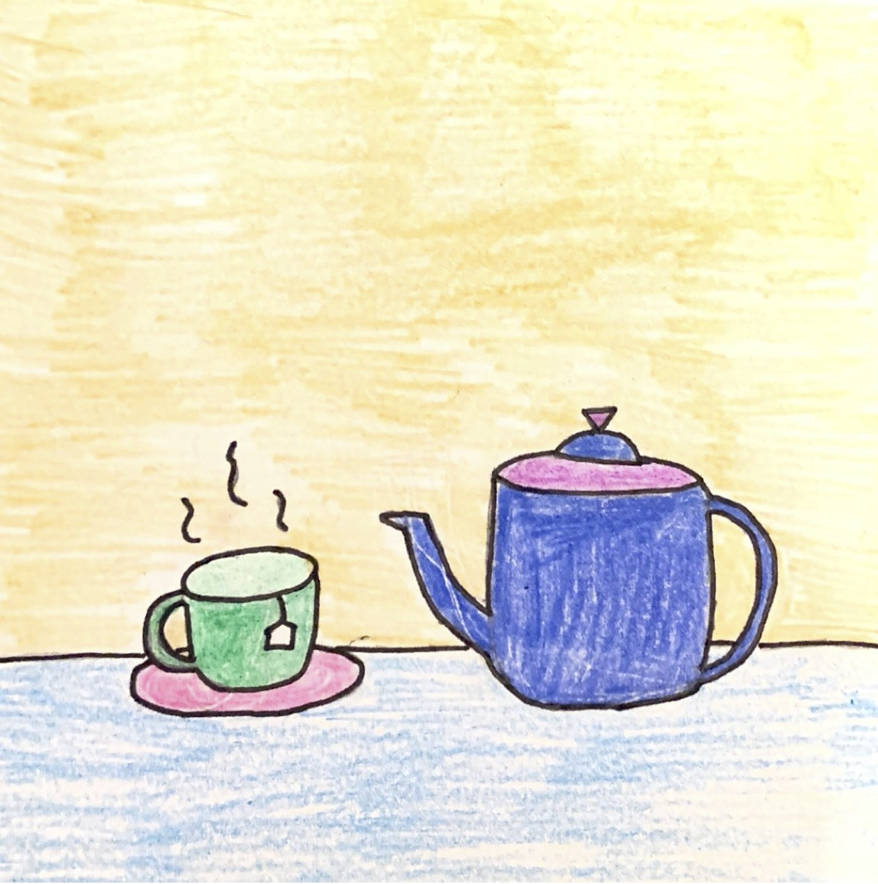 Drinking caffeine free tea is another effective method for reducing stress.